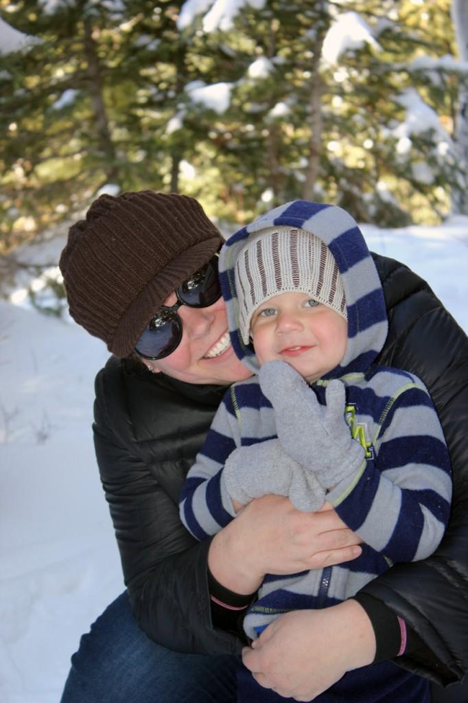 Ezra in snow 013