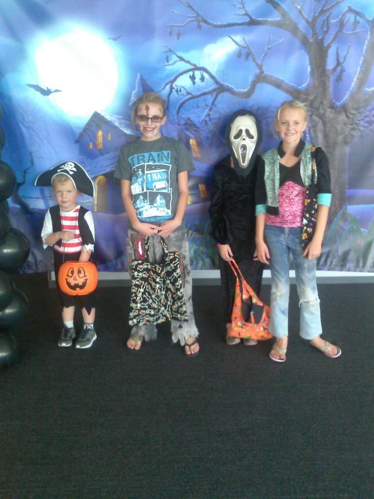 company Halloween event